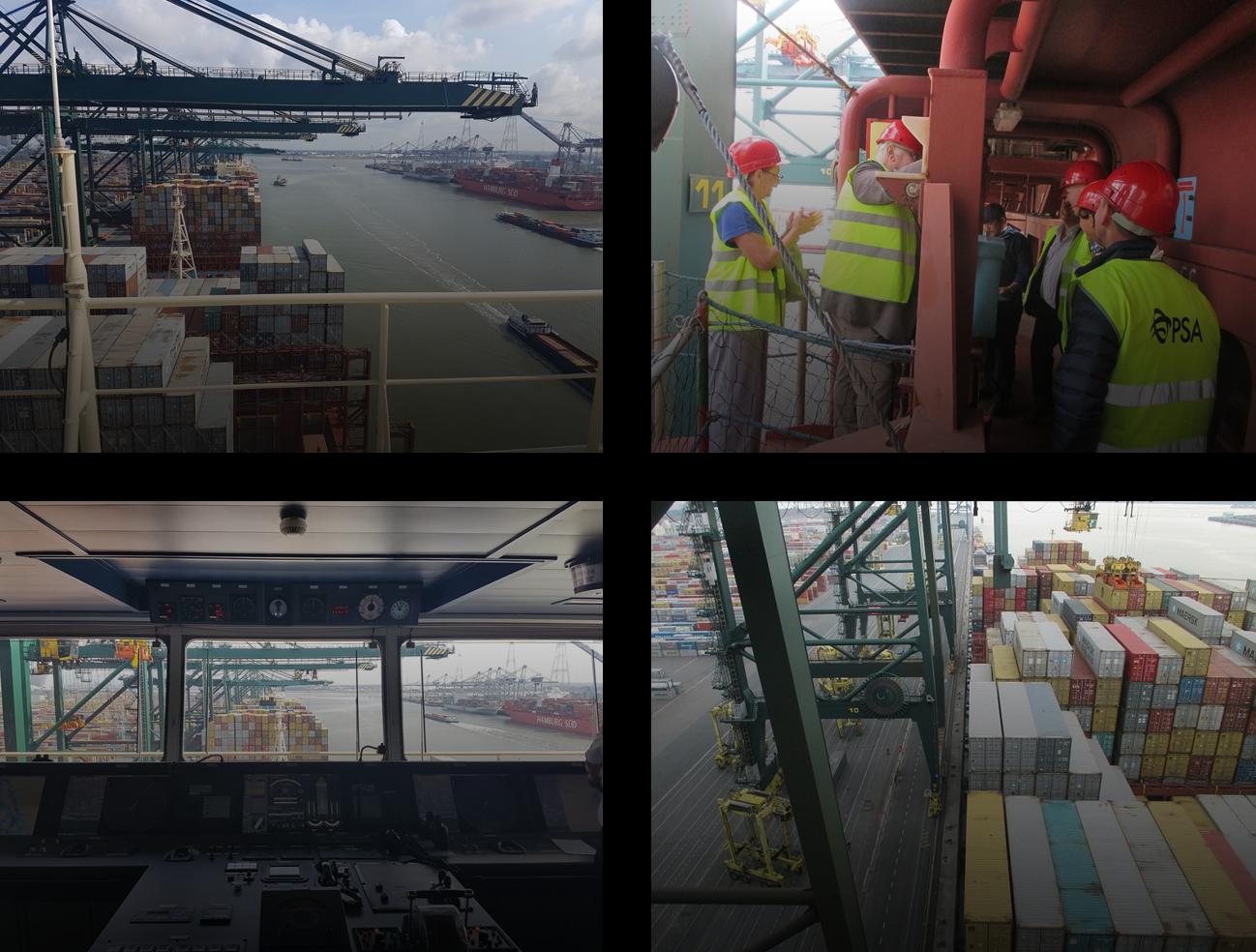 Madrid Maersk vessel visit | Lancaster Logistics